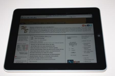 workaBLOGic iPad