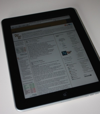 workaBLOGic iPad